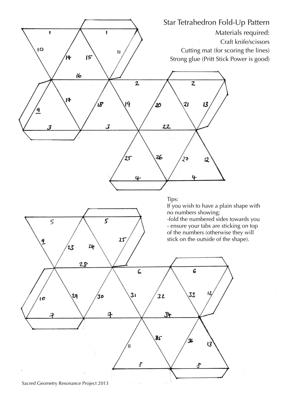 3d shape patterns patterns kid